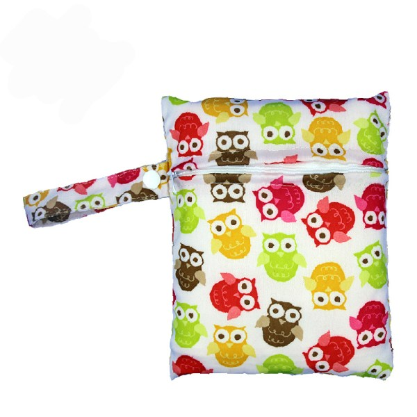 Reusable Nursing Pads Single Zippers Sanitary Pads Washable Wet Bags Nappy Bags Printed Waterproof Wetbag Diaper 4 Reusable Nursing Pads Single Zippers Sanitary Pads Washable Wet Bags Nappy Bags Printed Waterproof Wetbag Diaper Bags 16*20cm