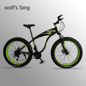 wolf s fang bicycle Mountain bike Fat Bike 21 speed road bikes Man Aluminum Alloy Front Innrech Market.com
