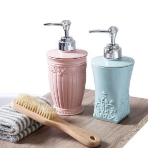 400ml Pressing Liquid Soap Dispensers Bottle Hand Sanitizer Storage Bottle Bathroom Shampoo Shower Gel Container Accessories Innrech Market.com