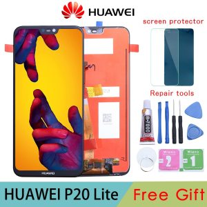 5 84 2280x1080 IPS Display For HUAWEI P20 Lite LCD Touch Screen Replacement with Frame Original Innrech Market.com