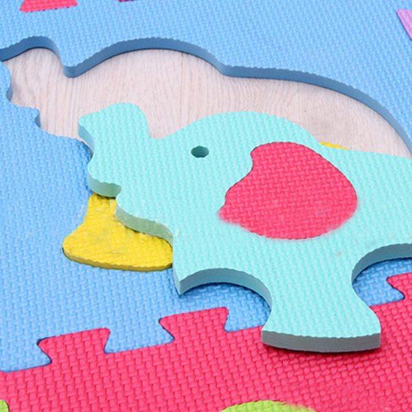 9Pcs set EVA Foam Baby Play Mat Stitching Crawling Rug Kid Kruipen Mat Assembled Animal Carpet 5 9Pcs/set EVA Foam Baby Play Mat Stitching Crawling Rug Kid Kruipen Mat Assembled Animal Carpet Puzzle Pad For Children Games