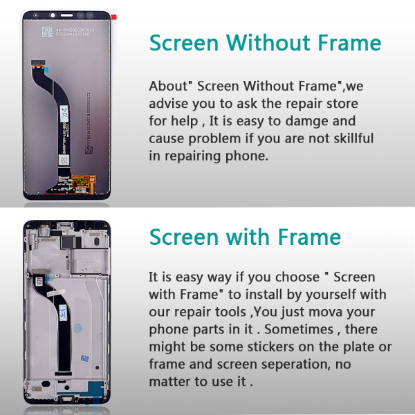 AAA 5 7 inch LCD display for Xiaomi Redmi 5 touch screen digitizer assembly 1440 720 3 AAA 5.7 inch LCD display for Xiaomi Redmi 5 touch screen digitizer assembly 1440*720 Frame Oleophobic Coating 10 Touch