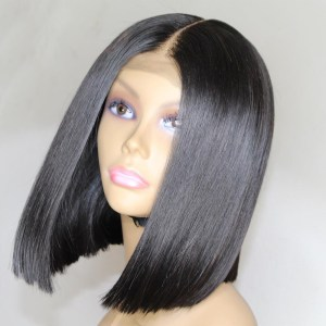 Eversilky Short Bob Wig Lace Front Human Hair Wigs For Black Women Peruvian Remy Hair Pre Innrech Market.com