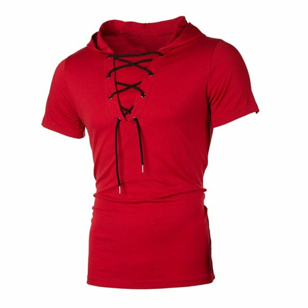 New Men Hoodies Short Sleeve Slim Solid Hip hop Fitness Workout Gym Hooded Tee Muscle Sweatshirts 3 New Men Hoodies Short Sleeve Slim Solid Hip-hop Fitness Workout Gym Hooded Tee Muscle Sweatshirts arrival Summer Casual Top Hot