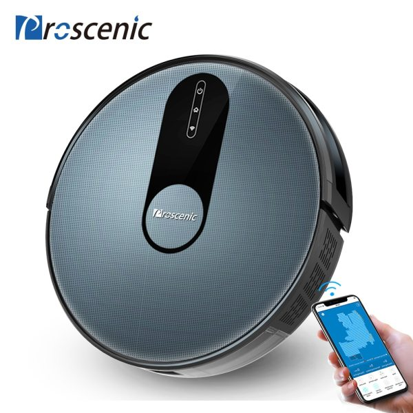 Proscenic 820P Robot Vacuum Cleaner Smart Planned 1800Pa Suction with wet cleaning for Home Carpet Cleaner Proscenic 820P Robot Vacuum Cleaner Smart Planned 1800Pa Suction with wet cleaning for Home Carpet Cleaner Washing Smart Robot