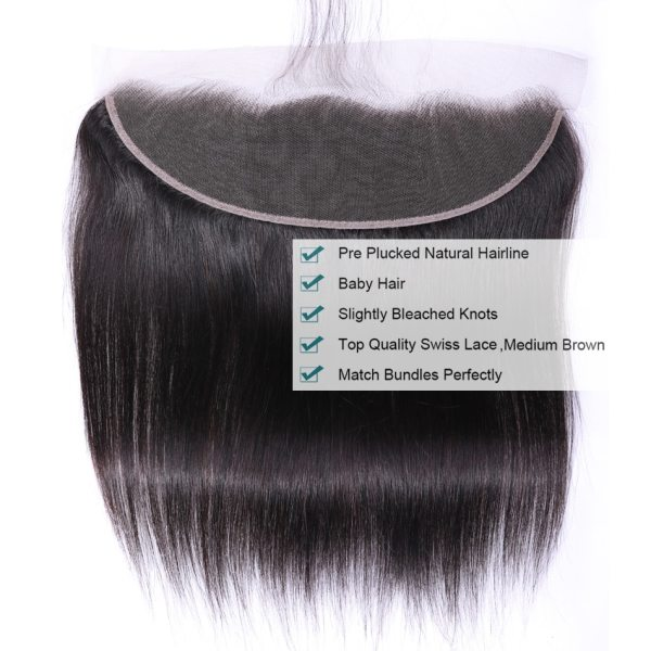Tuneful Straight Human Hair 3 Bundles With Frontal Closure Malaysian Remy Hair Pre Plucked Lace Frontal 2 Tuneful Straight Human Hair 3 Bundles With Frontal Closure Malaysian Remy Hair Pre Plucked Lace Frontal Closure With Bundles