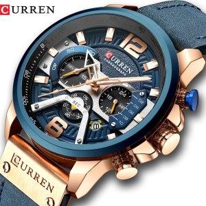 CURREN Watch Men Business Watches Orologio Uomo Leather band Wristwatch Leather Quartz Watch Zegarek Meski Reloj Innrech Market.com