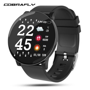 Cobrafly W8 smart watch blood pressure fitness tracker watch heart Rate Sleep Monitor Smart Sport Watch Innrech Market.com