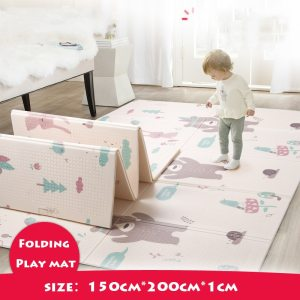 Infant Shining Foldable Baby Play Mat Thickened Tapete Infantil Home Baby Room Puzzle Mat XPE 150X200CM Innrech Market.com