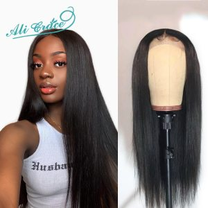 Ali Grace 13 6 Lace Front Wigs 150 Density Ple Plucked Hairline With Baby Hair Remy Innrech Market.com