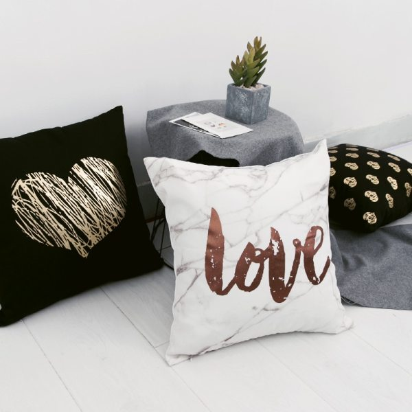 Black Golden Leaves Cushion Brozing Gold Foil Cushion Decorative Pillows Home Decor Throw Pillow Almofadas Decorativas 3 Black Golden Leaves Cushion Brozing Gold Foil Cushion Decorative Pillows Home Decor Throw Pillow Almofadas Decorativas Para Sofa