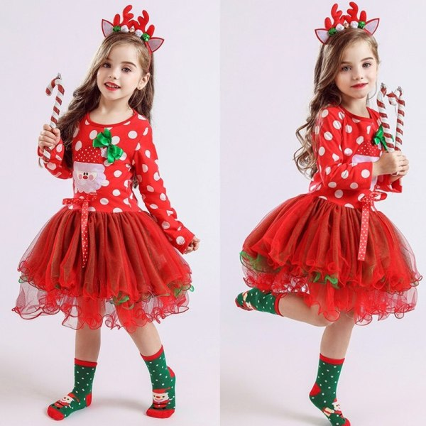 Fancy New Year Baby Girl Carnival Santa Dress For Girls Summer Minnie Mouse Holiday Children Clothing 1 Fancy New Year Baby Girl Carnival Santa Dress For Girls Summer Minnie Mouse Holiday Children Clothing Party Tulle Kids Costume