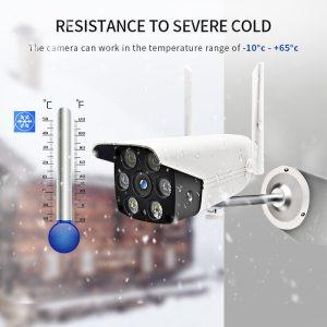 HD Wireless IP Camera Outdoor Waterproof 1080P LED IR Light Night Vision Camera WIFI PTZ Security Innrech Market.com