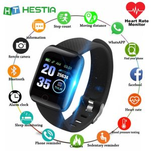Health Bracelet 5 in 1 Fitness Tracker Activity Smart Band Pedometer Sports Health Wristband Cardio Tonometer Innrech Market.com