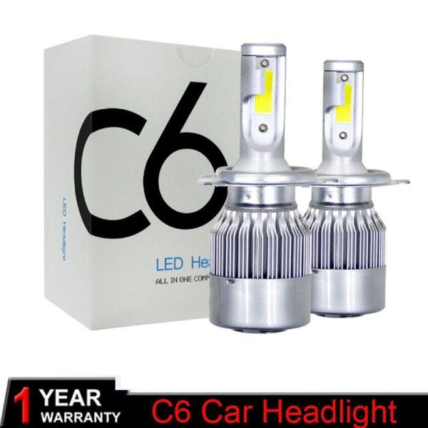 Muxall 8000LM Pair LED Headlight Bulbs 72W Auto Lights Car H7 LED H1 H3 H27 H11 Muxall 8000LM/Pair LED Headlight Bulbs 72W Auto Lights Car H7 LED H1 H3 H27 H11 HB3 HB4 H4 H13 9004 9007 Car Styling Lamp