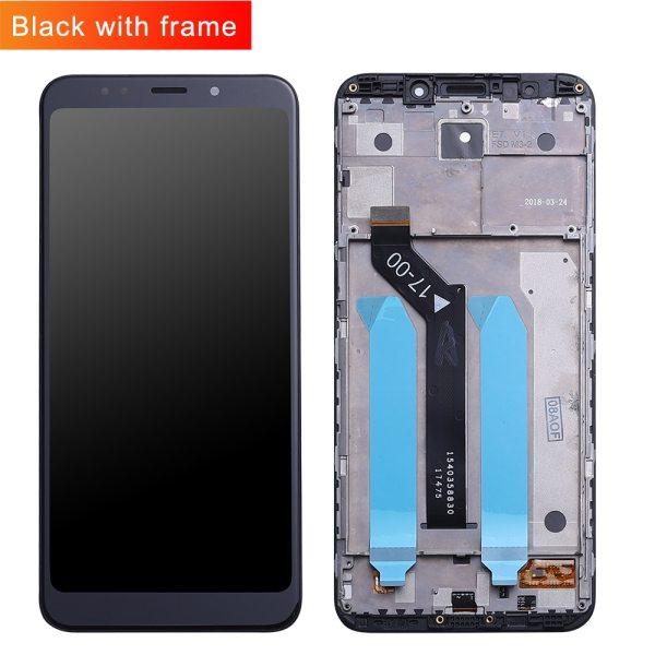 Original For Xiaomi Redmi 5 Plus LCD Display Frame 10 Touch Screen Redmi5 Plus LCD Digitizer 1 Original For Xiaomi Redmi 5 Plus LCD Display + Frame 10 Touch Screen Redmi5 Plus LCD Digitizer Replacement Repair Spare Parts