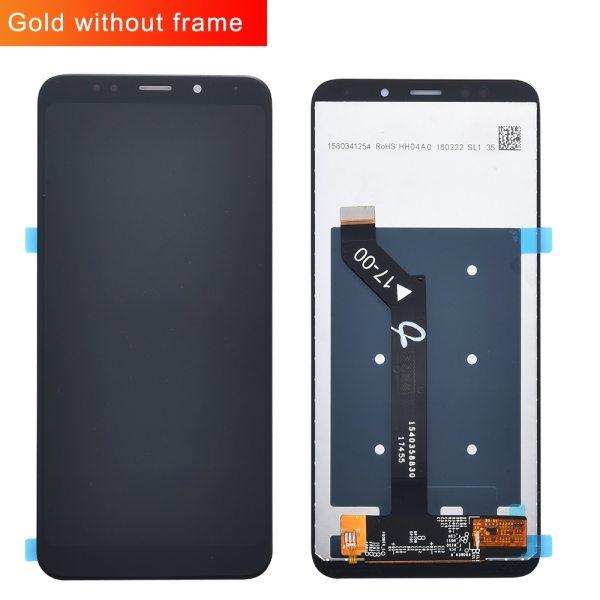Original For Xiaomi Redmi 5 Plus LCD Display Frame 10 Touch Screen Redmi5 Plus LCD Digitizer 2 Original For Xiaomi Redmi 5 Plus LCD Display + Frame 10 Touch Screen Redmi5 Plus LCD Digitizer Replacement Repair Spare Parts