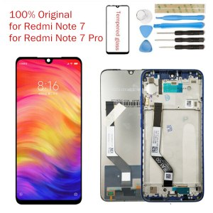 Original for Xiaomi Redmi Note 7 LCD Display Screen Touch Digitizer Assembly Redmi Note7 Pro LCD Innrech Market.com