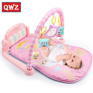 QWZ 3 in 1 Baby Play Mat Baby Gym Toys Soft Lighting Rattles Musical Toys For Innrech Market.com