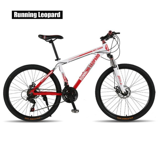 Running Leopard mountain bike bicycle 21 24 speed mountain bike suitable for for men and women 2 Running Leopard mountain bike bicycle 21/24 speed mountain bike suitable for  for men and women students vehicle adultb