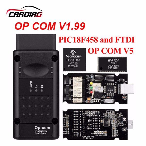 op com V1 65 V1 78 V1 99 with PIC18F458 FTDI op com OBD2 Auto Diagnostic op com V1.65 V1.78 V1.99 with PIC18F458 FTDI op-com OBD2 Auto Diagnostic tool for Opel OPCOM CAN BUS V1.7 can be flash update