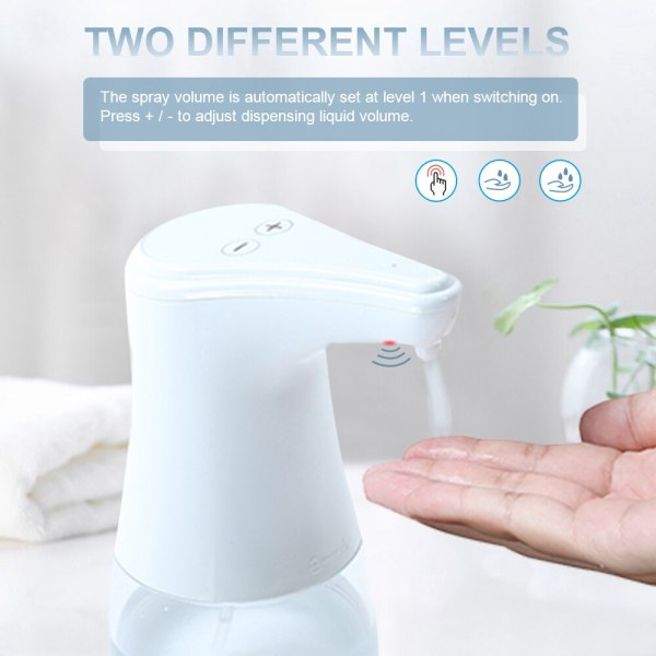 Automatic Alcohol Spray Dispenser Touchless Alcohol Sanitizer Disinfectant Liquid Sope Dispensers IR Sensor Bottle for Bathroom 1 Automatic Alcohol Spray Dispenser Touchless Alcohol Sanitizer Disinfectant Liquid Sope Dispensers IR Sensor Bottle for Bathroom