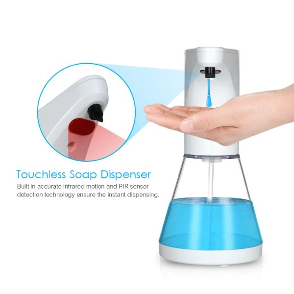 Automatic Alcohol Spray Dispenser Touchless Alcohol Sanitizer Disinfectant Liquid Sope Dispensers IR Sensor Bottle for Bathroom 4 Automatic Alcohol Spray Dispenser Touchless Alcohol Sanitizer Disinfectant Liquid Sope Dispensers IR Sensor Bottle for Bathroom