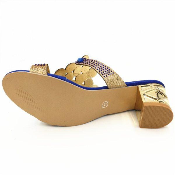 Designer Sandals Women 2018 Ladies Slides Women Slippers Sandals Summer Crystal Shoes Peep Toe Middle Heels 4 Designer Sandals Women 2018 Ladies Slides Women Slippers Sandals Summer Crystal Shoes Peep Toe Middle Heels Zapatos Mujer