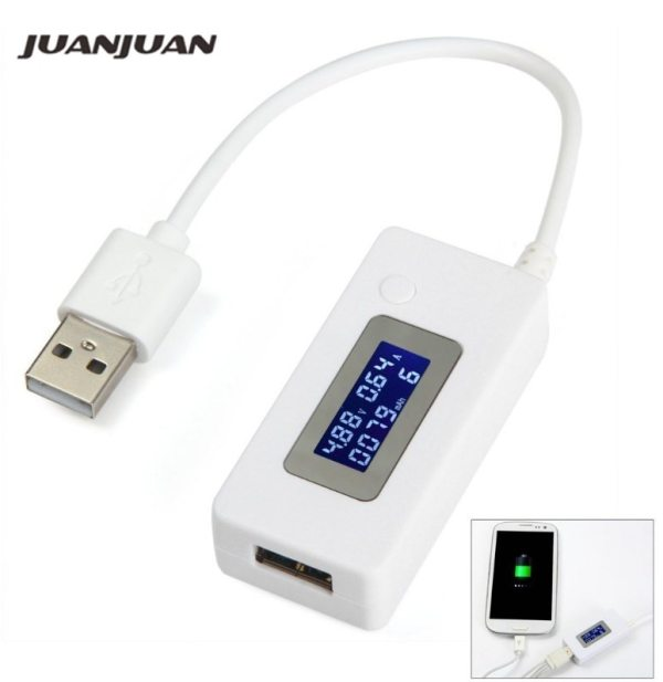 LCD Screen Mini Creative Phone USB Tester Portable Doctor Voltage Current Meter Mobile Power Charger Detector LCD Screen Mini Creative Phone USB Tester Portable Doctor Voltage Current Meter Mobile Power Charger Detector 40% off