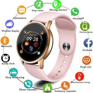 LIGE 2019 Hot Sale Smart Watches Heart Rate Blood Pressure Monitor Smart Watch Women Smartwatch Sport Innrech Market.com