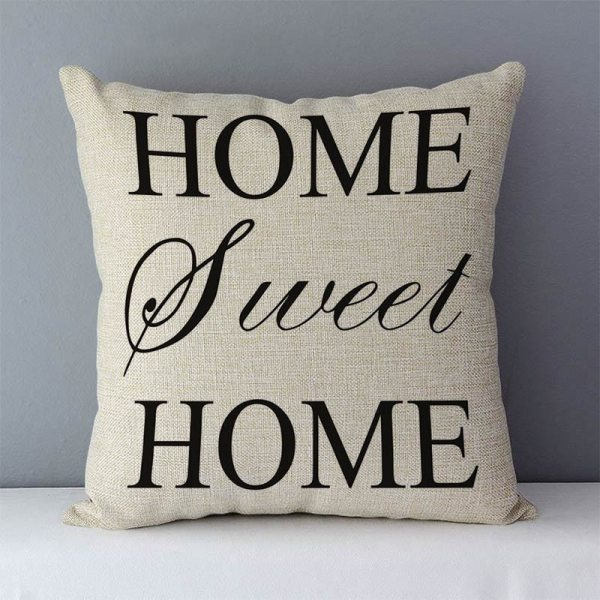 """Popular phrase words letters printed couch cushion home decorative pillows 45x45cm cotton linen square cushions Love 3 Popular phrase words letters printed couch cushion home decorative pillows 45x45cm cotton linen square cushions """"Love you more"""""""