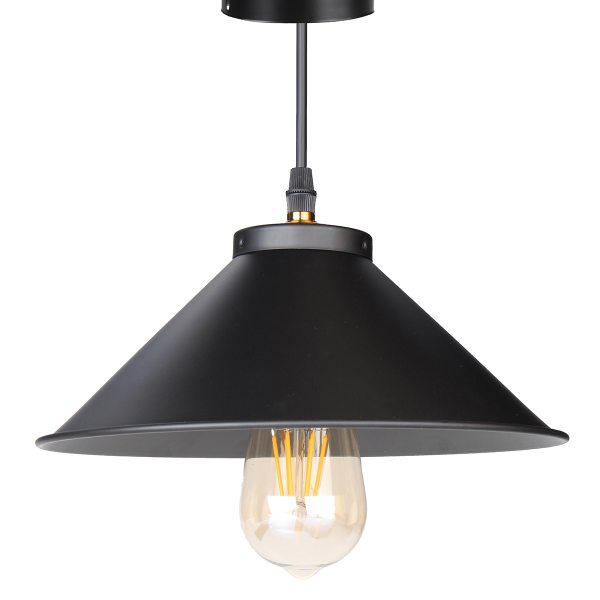 Retro Ceiling Light Lamp Round Vintage Industrial Design Iron Vintage Light Deco Bulb Lighting Fixture 1 Retro Ceiling Light Lamp Round Vintage Industrial Design Iron Vintage Light Deco Bulb Lighting Fixture