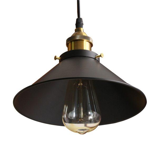 Retro Ceiling Light Lamp Round Vintage Industrial Design Iron Vintage Light Deco Bulb Lighting Retro Ceiling Light Lamp Round Vintage Industrial Design Iron Vintage Light Deco Bulb Lighting Fixture