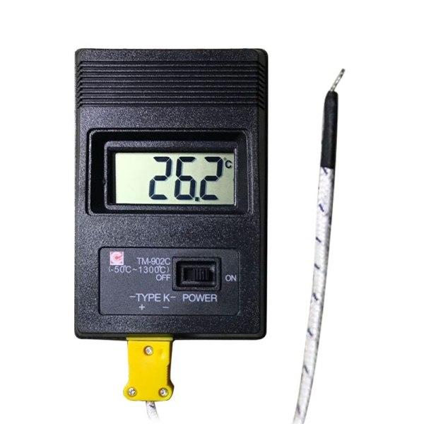 TM 902C 50C to 1300C Temperature Meter TM902C Digital K Type Thermometer Sensor Thermocouple Probe detector 1 TM-902C (-50C to 1300C) Temperature Meter TM902C Digital K Type Thermometer Sensor + Thermocouple Probe detector