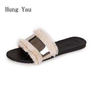 Women Sandals Slippers Flips Flops 2018 Summer Style Shoes Woman Wedges Sandals Fashion Platform Female Slides Innrech Market.com
