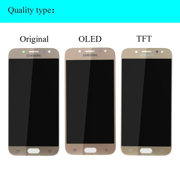 100 original SUPER AMOLED 5 2 Replacement Display for SAMSUNG Galaxy J5 2017 J530 J530F Touch 1 100% original SUPER AMOLED 5.2'' Replacement Display for SAMSUNG Galaxy J5 2017 J530 J530F Touch Screen Digitizer Assembly