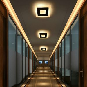 18w LED Ceiling Light Aluminum Acrylic Home Decor Ceiling Lamp Bedroom Living Room Hallway Lighting Light Innrech Market.com