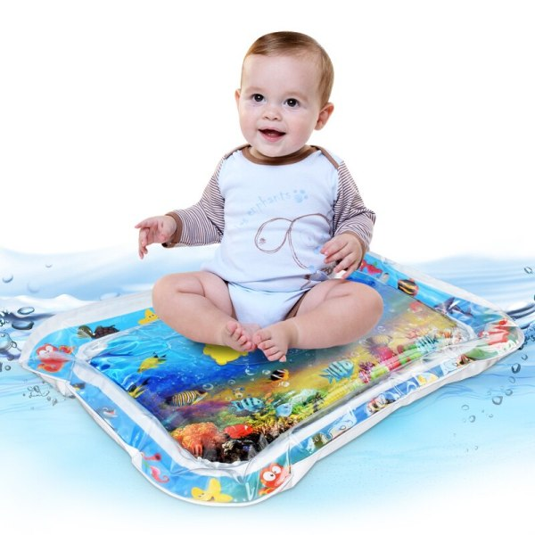2019 Creative Water Mat Baby Inflatable Patted Pad Baby Inflatable Water Cushion Infant Play Mat Toddler 4 2019 Creative Water Mat Baby Inflatable Patted Pad Baby Inflatable Water Cushion Infant Play Mat Toddler Funny Pat Pad Toys