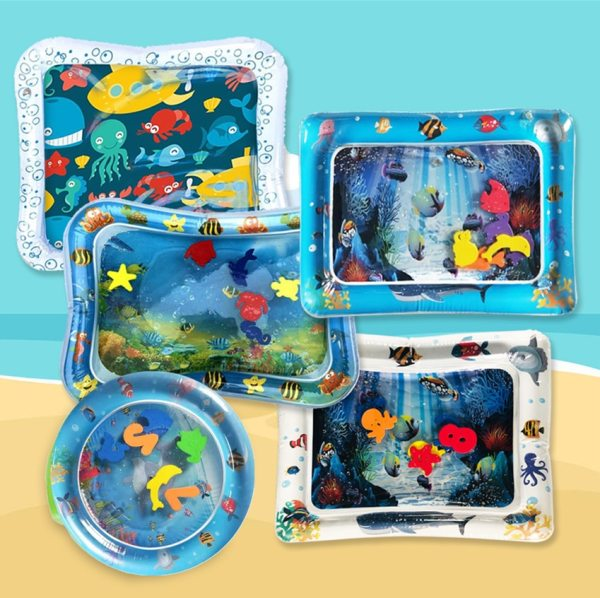 2019 Creative Water Mat Baby Inflatable Patted Pad Baby Inflatable Water Cushion Infant Play Mat Toddler 2019 Creative Water Mat Baby Inflatable Patted Pad Baby Inflatable Water Cushion Infant Play Mat Toddler Funny Pat Pad Toys