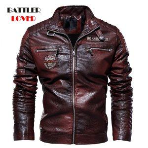 2019 Men s Natural Real Leather Jacket Men Motorcycle Hip Hop Biker Winter Coat Men Warm Innrech Market.com