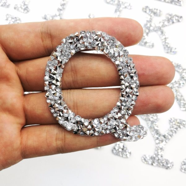A Z 1PC Rhinestone English Alphabet Letter Mixed Embroidered Iron On Patch For Clothing Badge Paste A-Z 1PC Rhinestone English Alphabet Letter Mixed Embroidered Iron On Patch For Clothing Badge Paste For Clothes Bag Pant shoes