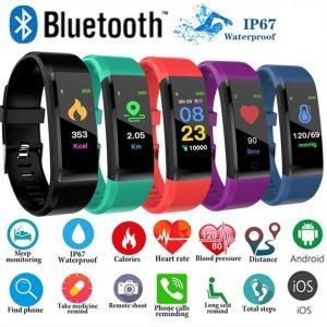 ID115 Smart Bracelet Fitness Tracker Smart Wristband Pedometer Compatible Smartband Waterproof Sleep Monitor Wrist Watch W Innrech Market.com