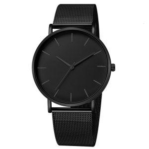 Luxury Watch Men Mesh Ultra thin Stainless Steel Quartz Wrist Watch Male Clock reloj hombre relogio Innrech Market.com