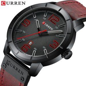 Men Watch 2019 CURREN Men s Quartz Wristwatches Male Clock Top Brand Luxury Reloj Hombres Leather Innrech Market.com