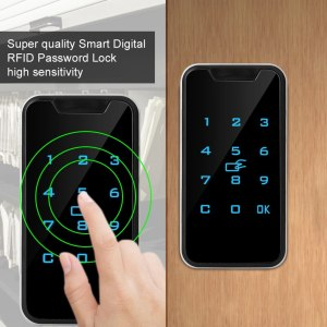 SOONHUA High Quality Zinc Alloy Smart Digital RFID Password Lock Touch Keypad Electronic Wardrobe File Cabinet Innrech Market.com