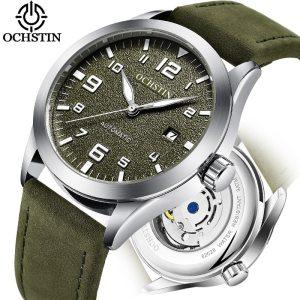 Top Brand OCHSTIN Tourbillon Automatic Watch Men Waterproof Date Sport Men Leather Mechanical Wrist Watch Male Innrech Market.com