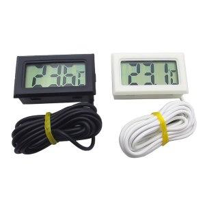 Urijk 1Pcs LCD Digital Thermometer Waterproof Aquarium Thermometer 2 Seconds Digital Sensor Weather Station Innrech Market.com
