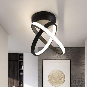 Verllas Rotatable Modern LED Ceiling Lights for Corridor aisle minimalist porch entrance hall balcony led Home Innrech Market.com