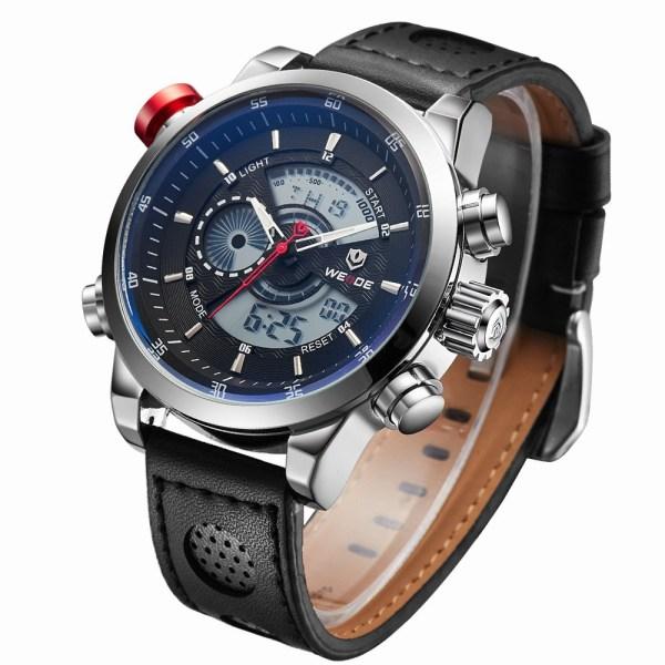 Weide watch Men Luxury Top Brand Quartz Watch Fashion Business Male Watch Shockproof Luminous Wristwatch 4 Weide watch Men Luxury Top Brand Quartz Watch Fashion Business Male Watch Shockproof Luminous Wristwatch