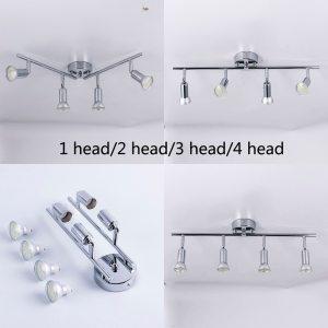 angle adjustable Rotatable led ceiling light showcase with GU10 led bulb Living Room LED cabinet spot Innrech Market.com